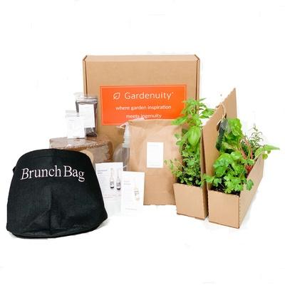 Giftable Brunch Bag Garden