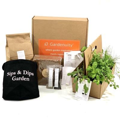 Giftable Sips & Dips Garden