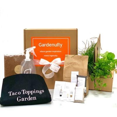 Giftable Taco Toppings Garden