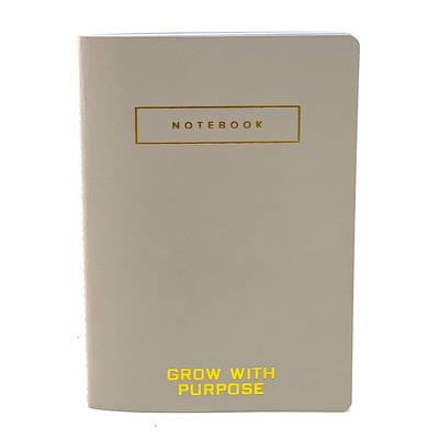 Grow With Purpose Notebook, Gray