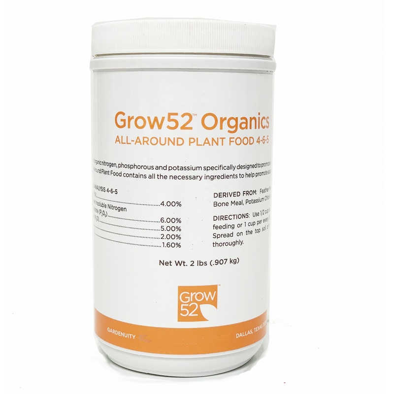 Grow52 Organics All-Around Plant Food 4-6-5